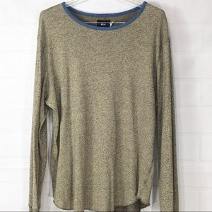 BDG Urban Outfitters- Tan Long sleeve T-shirt XL